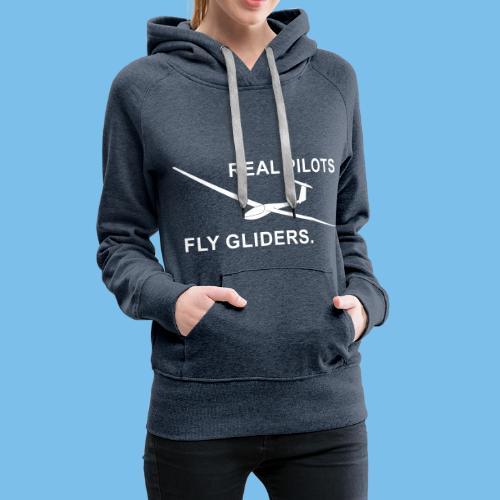 Segelflieger Segelflugzeug gleiten Geschenkidee - Frauen Premium Hoodie