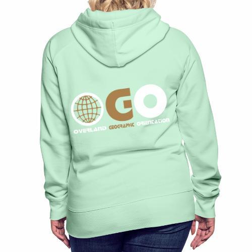 OGO-19 - Sweat-shirt à capuche Premium pour femmes
