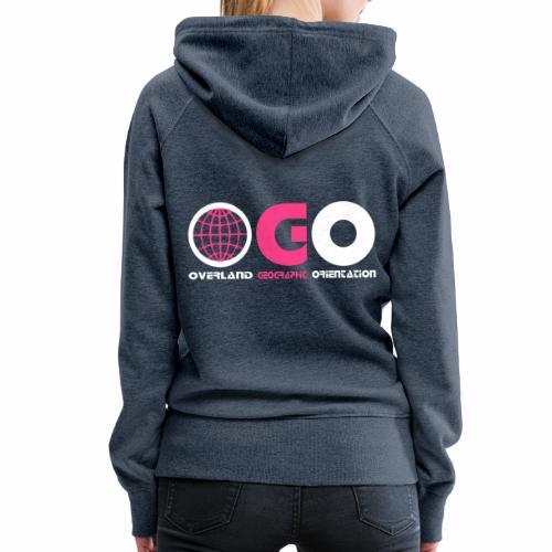 OGO-25 - Sweat-shirt à capuche Premium pour femmes
