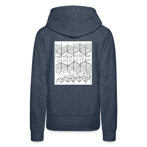 lachoraletetarbre - Sweat-shirt à capuche Premium pour femmes