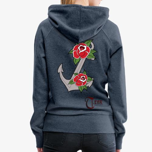 Anchor Roses - Frauen Premium Hoodie