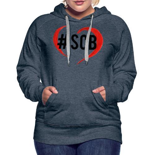 #sbc_solocosebelle - Felpa con cappuccio premium da donna