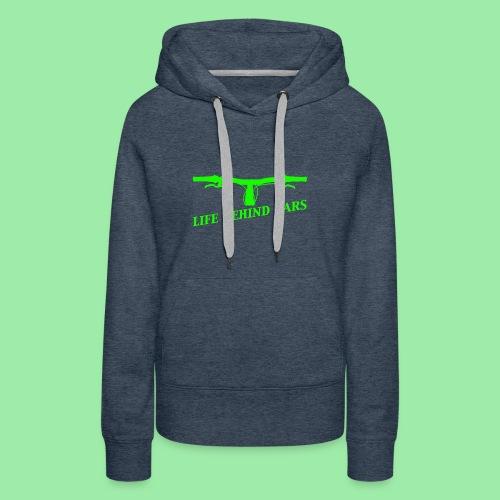 life behind bars2 - Vrouwen Premium hoodie