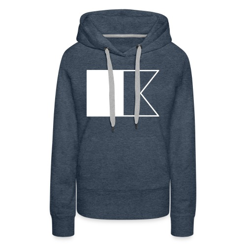 Duikvlag - Vrouwen Premium hoodie
