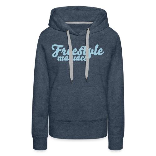 Freestyle Maniacs black - Vrouwen Premium hoodie