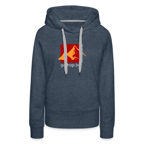 logo-big - Vrouwen Premium hoodie