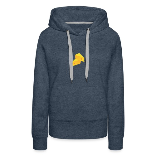 Official CheeseMates Big - Vrouwen Premium hoodie