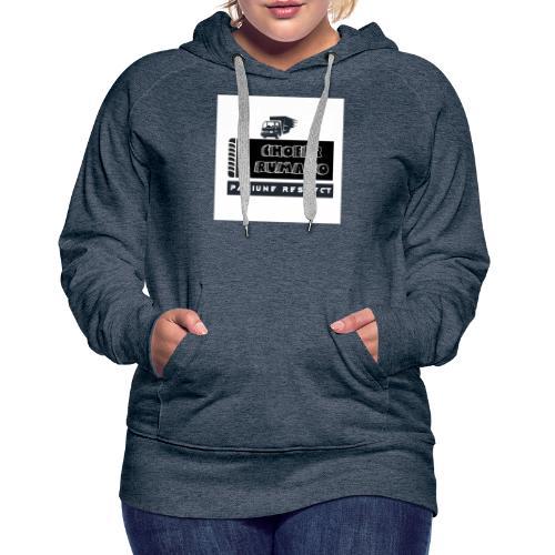 Chofer Rumano - Sudadera con capucha premium para mujer