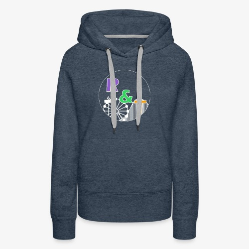 *Limited Edition* Robin & Thomas Merch Wit - Vrouwen Premium hoodie