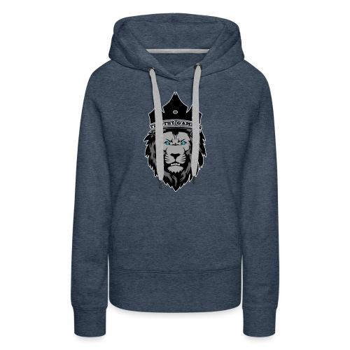 Timothy99NL, Witte Iijn Om Het Logo - Vrouwen Premium hoodie