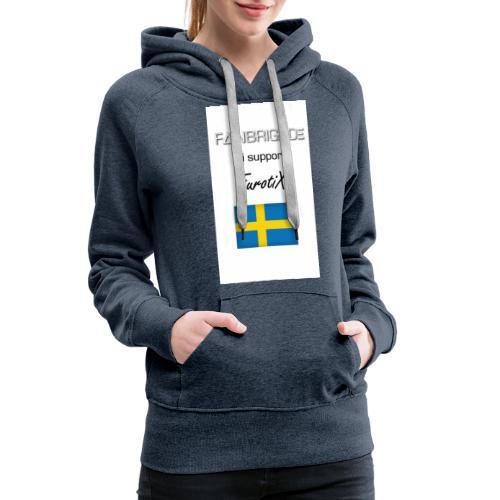 Fanbrigade - Dame Premium hættetrøje