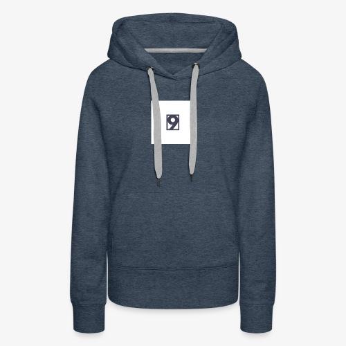9 Clothing T SHIRT Logo - Women's Premium Hoodie