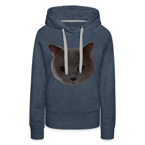 süße Katze - Frauen Premium Hoodie