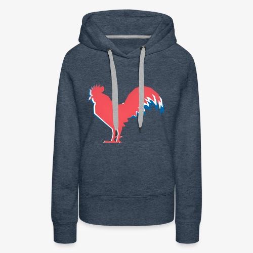 FOOT - Le Coq Français - Sweat-shirt à capuche Premium pour femmes