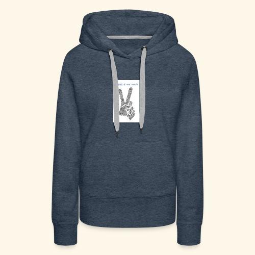 PAMM 1 - Sweat-shirt à capuche Premium pour femmes