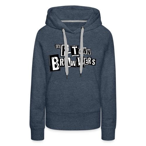 P-town Brawlers tekstilogo - Naisten premium-huppari