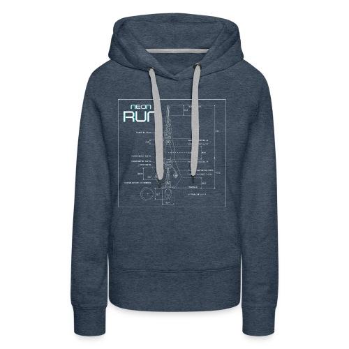 NeonRun - Vrouwen Premium hoodie