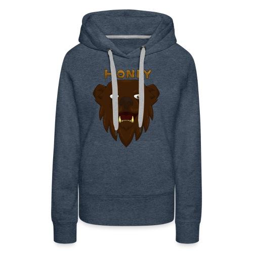 Honey Bear Design! - Women's Premium Hoodie