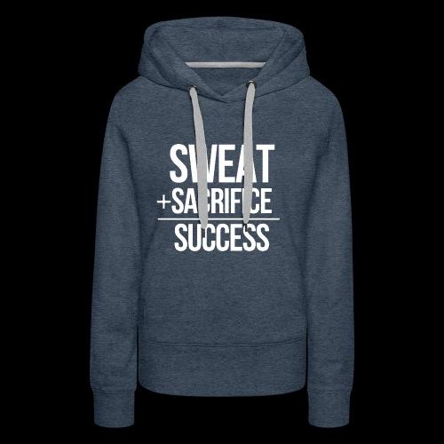 Erfolg Motivation Fitness T-shirt Englisch - Frauen Premium Hoodie