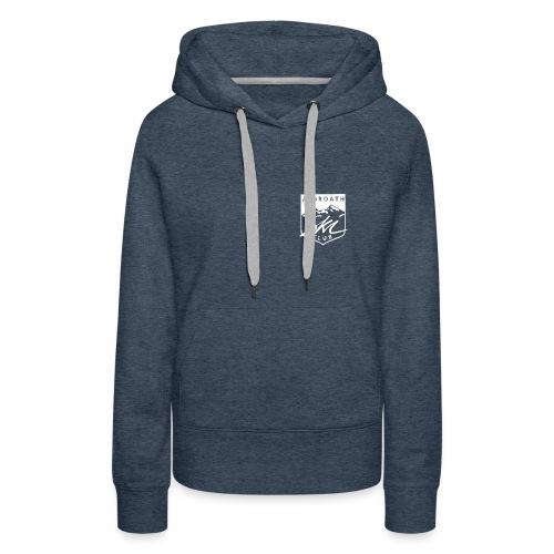 Arbroath Ski Club Logo White - Women's Premium Hoodie
