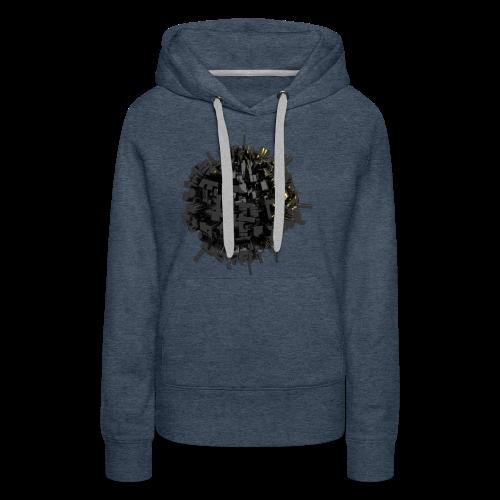 AsteroidCi-T Shirt - Sweat-shirt à capuche Premium pour femmes
