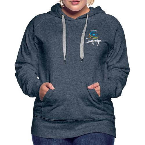 JudgeHype 20ème Anniversaire - Sweat-shirt à capuche Premium pour femmes
