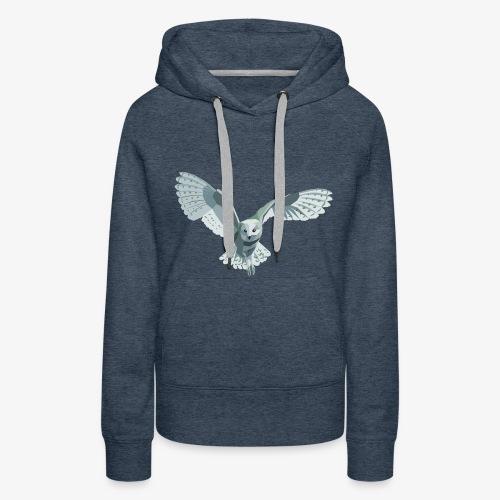 barn owl - Frauen Premium Hoodie