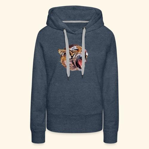 BOB LE TIGRE - Sweat-shirt à capuche Premium pour femmes
