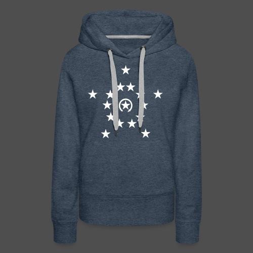 Stars White - Frauen Premium Hoodie