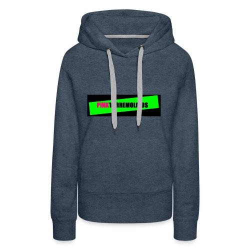 pinklogo - Vrouwen Premium hoodie