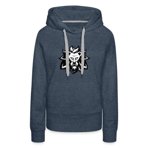 Jerano black and white - Vrouwen Premium hoodie