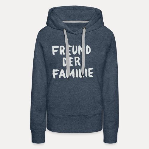 FDF LOGO WHITE - Frauen Premium Hoodie