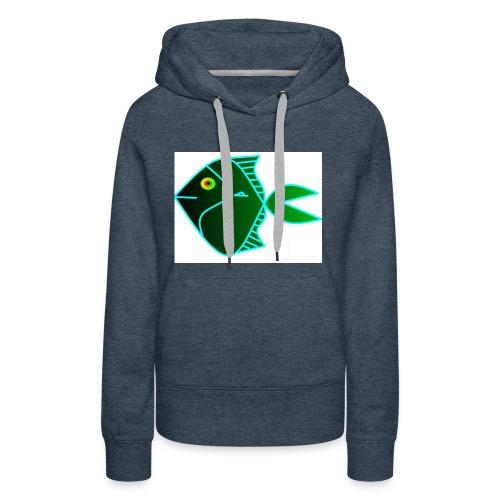 Green anglefish - Vrouwen Premium hoodie