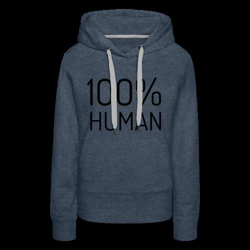 100% Human - Vrouwen Premium hoodie