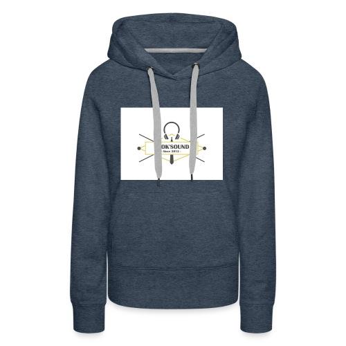 blasondjoksound - Sweat-shirt à capuche Premium pour femmes