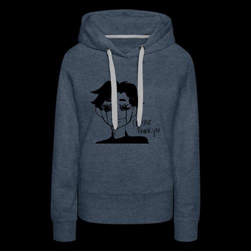 Feeling Vulnerable - Vrouwen Premium hoodie