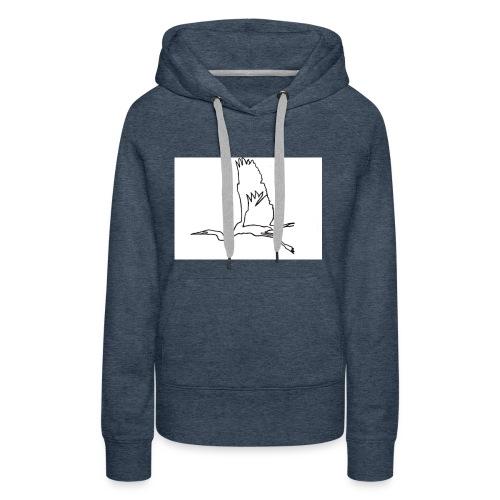 Kranich - Frauen Premium Hoodie