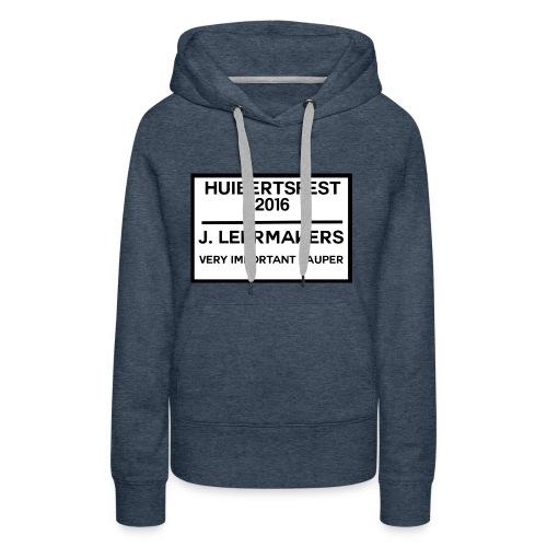 Huibertsfest - Vrouwen Premium hoodie