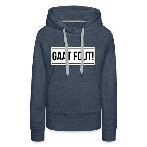 Wit shirt [KIND] - Vrouwen Premium hoodie