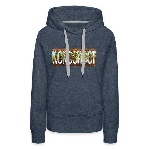 Kokosnoot - Vrouwen Premium hoodie