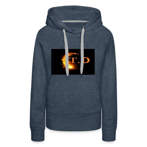 td - Sweat-shirt à capuche Premium pour femmes