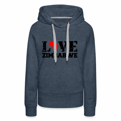 love zimbabwe - Women's Premium Hoodie