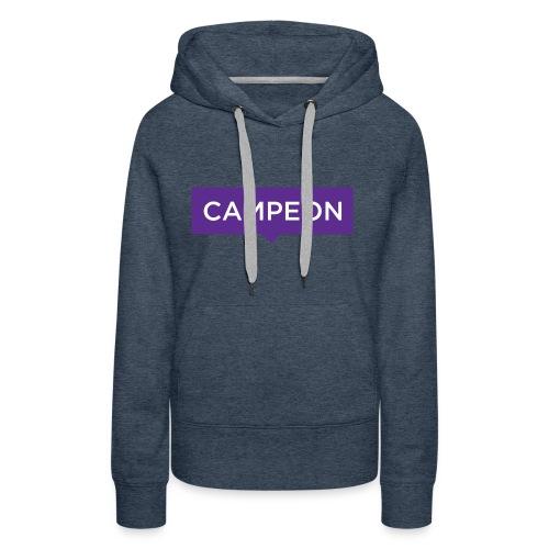 KlassiskCampeon - Premiumluvtröja dam