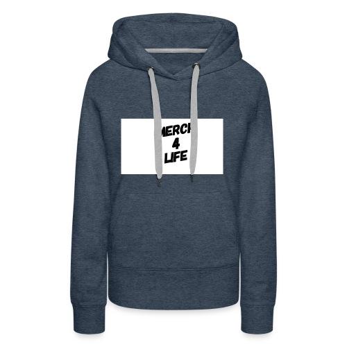 Merch4life/link-in-Bio-shirts+lots More/ - Women's Premium Hoodie