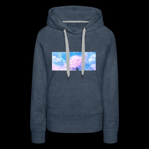 Kirschblüte - Frauen Premium Hoodie