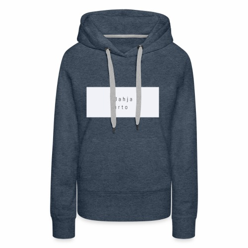 Bahja urto - Vrouwen Premium hoodie