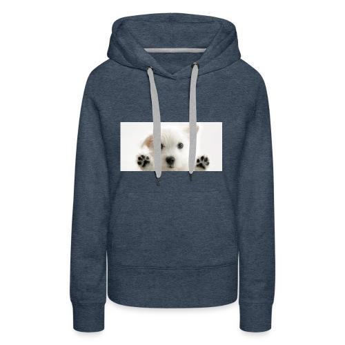 puppy - Sweat-shirt à capuche Premium pour femmes