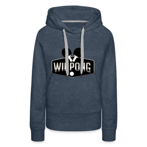 WinPong - Sweat-shirt à capuche Premium pour femmes