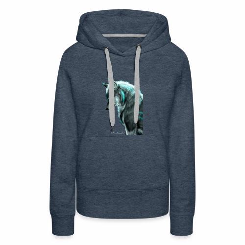 Breathmode wolf - Sweat-shirt à capuche Premium pour femmes