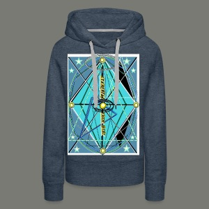 Clock of eternity - Frauen Premium Hoodie